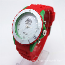 Fashion Silicone Quartz Wristwatch