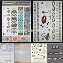 OEM Wholesale creative tattoo/geometric shape tattoo/fashion brands temporary tattoo Sticker for adults QY094