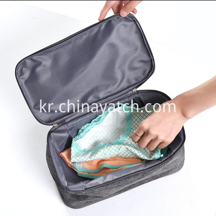 Portable Travel Underwear Bag