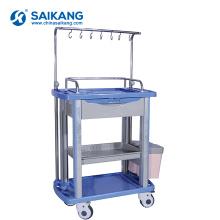 SKR054-IV Multi-Purpose ABS Utility Hospital Customized Medicine Nursing Trolley