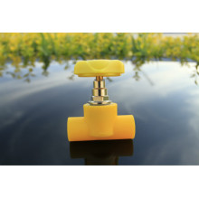 Válvula de globo de calidad ambiental amigable de calidad PPR