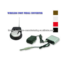 The newest rechargable wireless tattoo power supply with wireless tattoo foot pedal