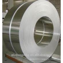 O tempera 1100 1060 Bandes en aluminium en rouleau pour prix condensateur par tonne
