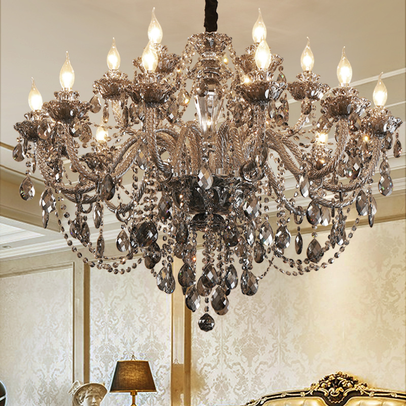 Application Glass And Silver Pendant Lights