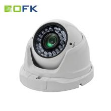 2.8-12mm manual Iris lens 2.0MP metal dome ahd cctv camera