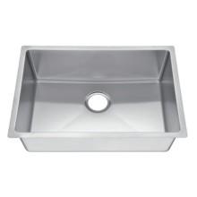 Stainless steel bathroom sink