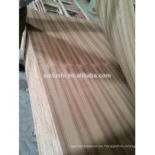 2.5mm precio de la madera contrachapada de la teca para la decoración / 4m m teca v