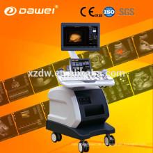 Trolley 4D Ultraschall Scanner Preis Farbe Doppler Ecografos mit freier Hand 3d & 4D USG Preis