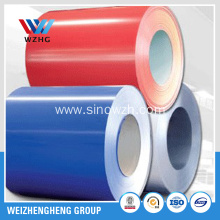 Brick red color coated steel coil to Dubai