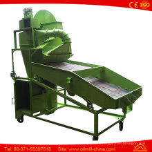 Soybean Seed Vibrating Sieve Machine Mobile Screen Cleaner