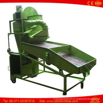 Líquido de limpeza de tela móvel de vibração da máquina da peneira da semente de feijão de soja