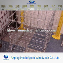 hesco barrier wall welded gabion box galvanized welded gabion mesh flood barrier wall