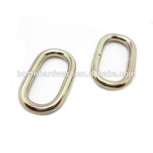 Art- und Weisequalitäts-Großhandelsmetall ovaler Ring