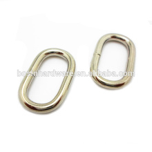 Fashion High Quality Wholesale Metal Oval Ring