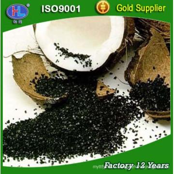 6 * 12 maille de coco charbon actif pour l'affinage de l'or
