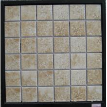 Имитация Кожаная плитка, Керамическая мозаика