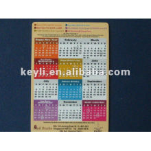 Calendar magnet ,According to your design . good quality .