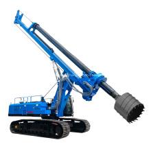 80m Depth Hydraulic Rotary Auger Drilling Machine