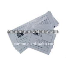 Tarjetas de limpieza largas para impresoras de tarjetas de identificación Polaroid / Zebra