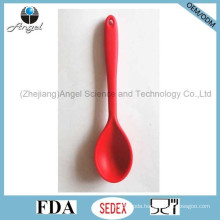 Non-Stick Silicone Kitchen Spoon for Cooking Tool Silicone Soup Spoon Sk15