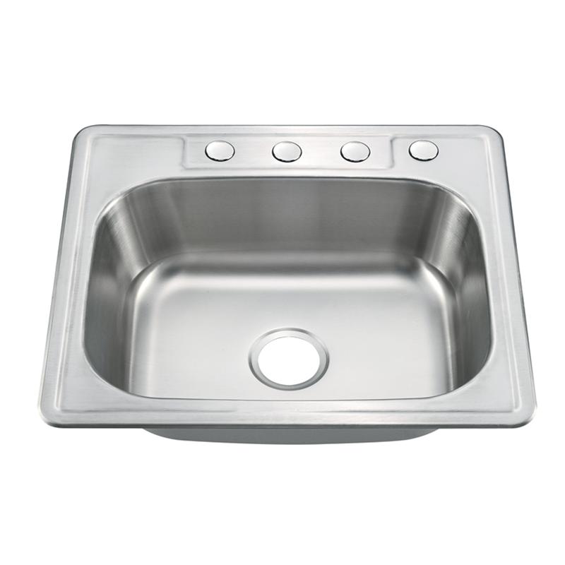 Stainless Steel Topmount Stainless Sink