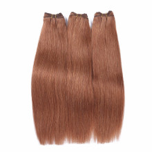 Brazilian virgin hair silky straight honey brown 2016 new products wholesale price human hair weave extension