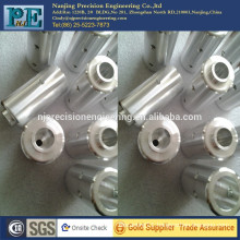 cnc machined aluminium pipe fittings for vapour appliance