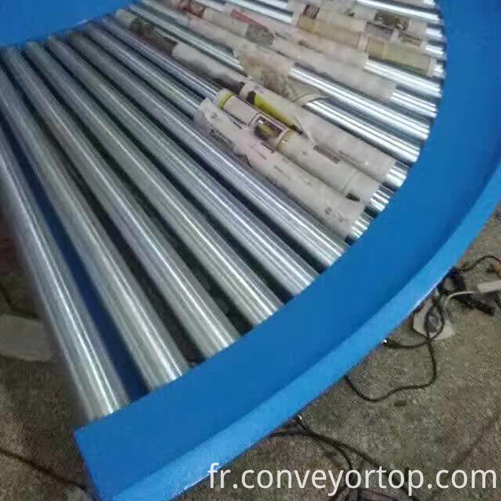 stainless steel curve roller