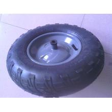 Bonne qualité petite roue en caoutchouc pneumatique 4.00-8