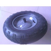 good quality small pneumatic rubber wheel 4.00-8