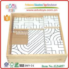 Juguetes educativos de madera del rompecabezas del laberinto