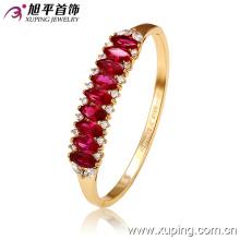 Новый Xuping Fashion Luxury Элегантный 18-каратный цветной браслет с овальным цирконом