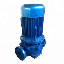 Pompe centrifuge à pipeline à aspiration verticale verticale à étage unique série ISG