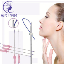Double Needle Face Lift Pdo Thread
