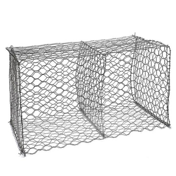 Hexagonal Woven Wire Mesh Gabion Box