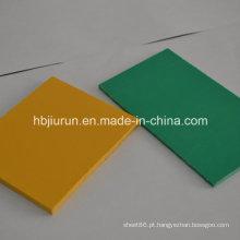 China Fabricação de folha rígida de PVC para termoformagem