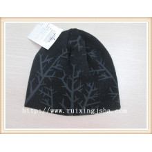 Boys acrylic knitted beanie hat