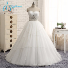 Beading Sequined Pearls Sweetheart Empire Gorgeous Wedding Dresses
