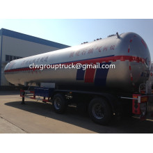 Tri-axle 60CBM LPG Transport نصف مقطورة
