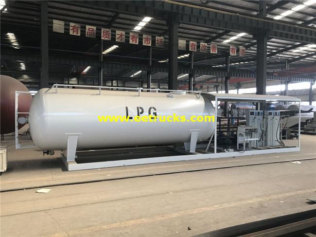 25000 Litres Mobile LPG Skid Plants