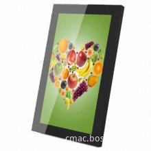 21.5-inch Touch Monitor Display, Industrial Metal Casing and Tempered Glass Front Frame