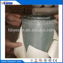 Galvanizado antes de tejer 4 mm x 4 mm malla cuadrada de malla de alambre