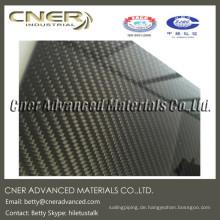 500mm * 500mm * 1mm 3k Kohlefaserplatte / -platte / -brett