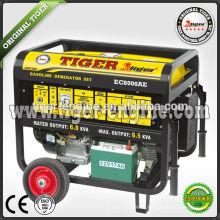 Бензиновый электрогенератор EC8000AE 6.0kw