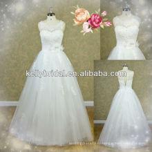 Китай высокое qaulity dridal вышитые платья с ручной цветок