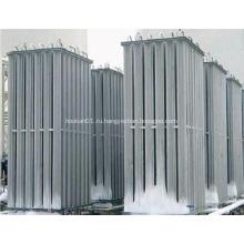 LOX LIN LAR LNG Испарители окружающего воздуха