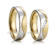 2013 newest gold plated sterling silver jewelry ring
