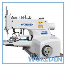 WD - 1377D alta velocidade botão anexar a máquina de costura