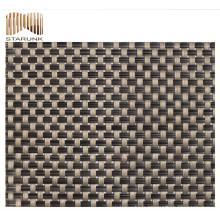 tissu textile de rideau résistant à la déchirure et à la moisissure avec le prix usine