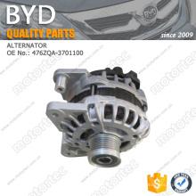 OE BYD repuestos alternador 476ZQA-3701100